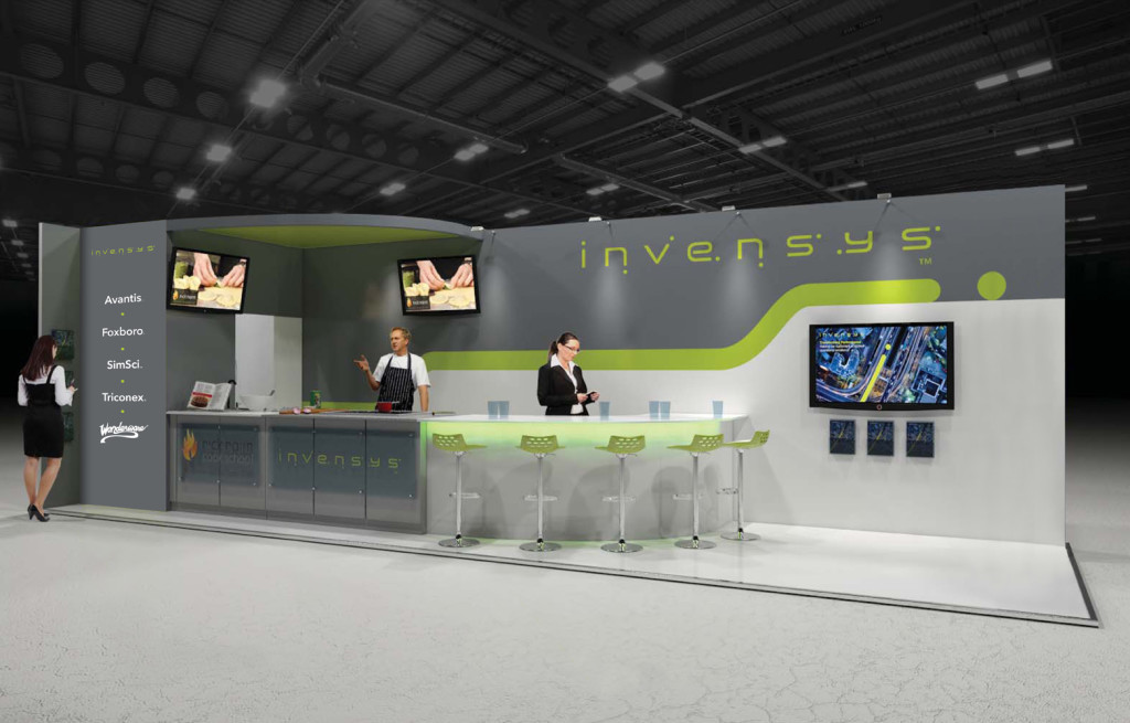 Invensys stand
