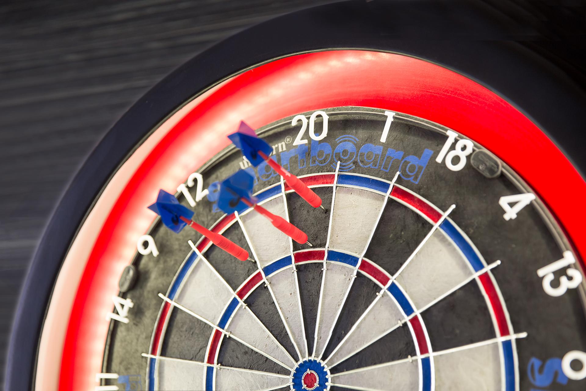Smartboard darts