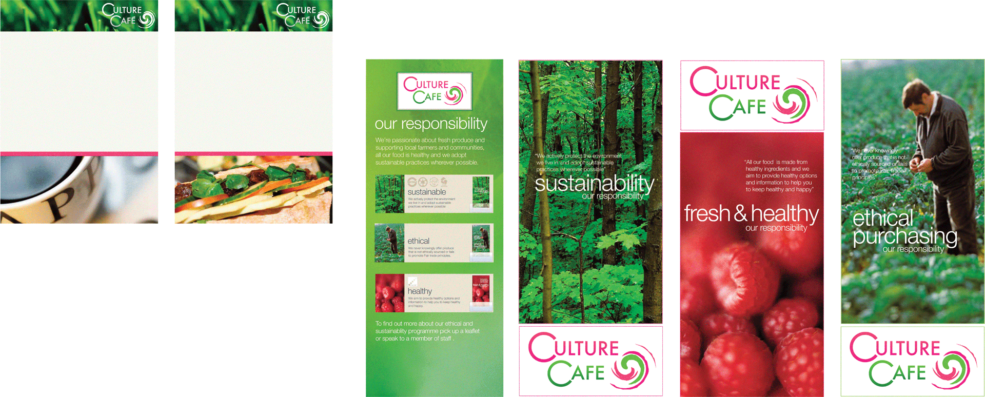 Culture Cafe Menus
