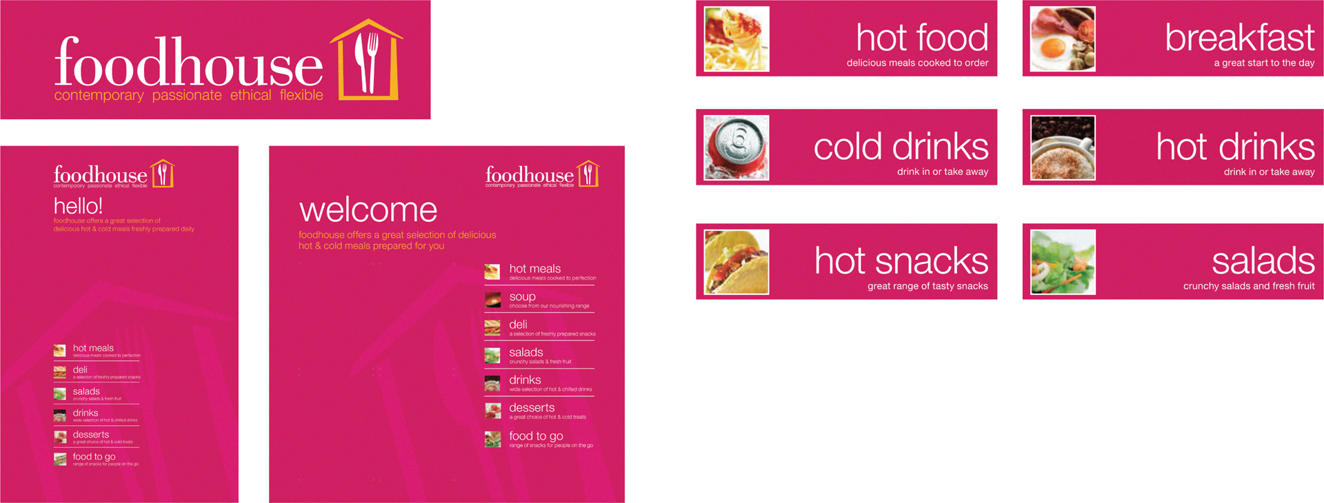 Foodhouse menu